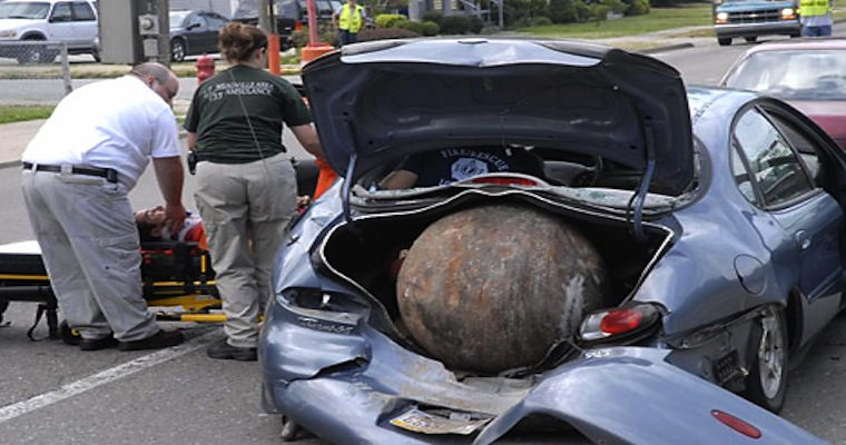 Car Seat Trunk Accident